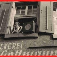 Schmutziger Donnerstag: Der technische Lautsprecher (vom E-Werk) und der lebendige Lautsprecher (Betriebsleiter Walter Buck).
