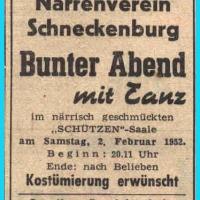 Bunter Abend: Da der Abend nicht im Ziegelhof stattfinden konnte, wurde ein Pendelverkehr zwischen Gottmannplatz und Schützen eingeführt.
