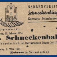 Der Schneckenball im Schauinsland war restlos ausverkauft. Es mussten sogar Stühle aus der Nachbarschaft ausgeliehen werden.