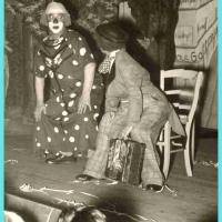 Bunter Abend: Clown's ghered immer zu de Fasnet, genau so wie'd Familie Fischer.