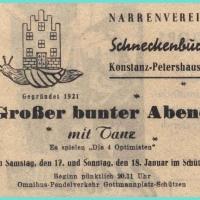 Bunter Abend: Viele Fachleute bezeichneten das Programm als das zweitbeste (hinter den Elefanten) das Konstanz zu bieten hatte.