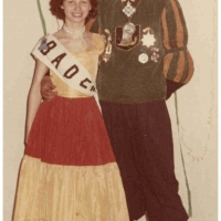 Fanfarenzug Marschtrommler Dieter Stöß mit Ehefrau Inge.