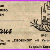 Verbrennung der Schneckenburg im Ziegelhof.