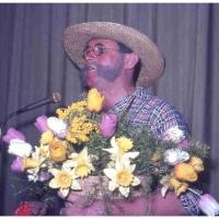 Bunter Abend im Schützen: Durch den Abend führte Gartenbaumeister Robert Borho.