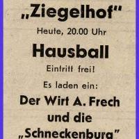 Hausball im Ziegelhof