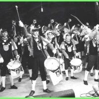 Narrenkonzerte im Konzil: Der Fanfarenzug der Schneckenburg eröffnet den Abend.