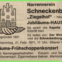 Jubiläums-Hausball im Ziegelhof.