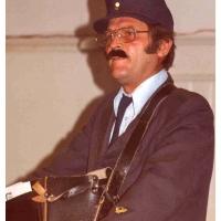 Eröffnung der Fasnachtssaison: Paul Bischoff diesmal als Briefträger.