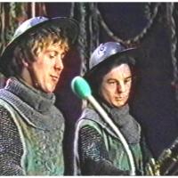 Narrenkonzerte im Konzil: Mit dabei waren Rolf (links) und Uwe (rechts) Beron.
