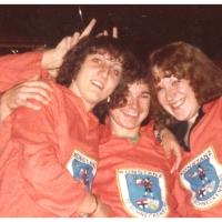 Deutsche Meisterschaft in Aschaffenburg: V.l.n.r.: Silvia Oser, Uwe Beron und Daniela Sum.