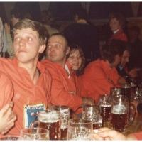Deutsche Meisterschaft in Aschaffenburg: V.l.n.r.: Michael Mutter, Bernd Sum, Kurt Hofmeier und Gerda Stader.