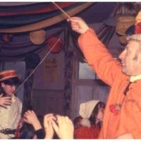 Betriebsleiter Walter Buck beim Kinderball im Ziegelhof.