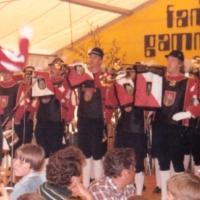Fanfarenzug beim Fanfarenzug-Treffen in Gammertingen.