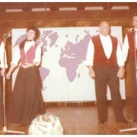 Narrenkonzerte im Konzil: Es sangen Dieter und Inge Stöß, Rudi Deutinger, Helmut Lorenz und Wolfgang Theuerjahr.