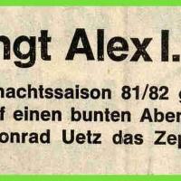 Fasnachtseröffnung im Ziegelhof: Neuer Präsident Alex I..
