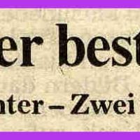 Fasnacht im Seerheincenter: Südkurier-Artikel.