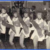 Fasnachtseröffnung im Ziegelhof: Zum 11.11. der Schneckenburg trat nach zweijähriger Pause das neu formierte Ballett unter der Leitung von Ingried Schafheitle erstmals wieder auf.