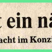 Frühschoppen-Konzert im Konzil: Südkurier-Bericht.