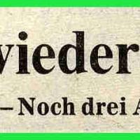 Narrenkonzerte im Konzil: Zeitungsartikel.