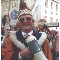 Umzug in Petershausen: Umzugs-Helfer Ludwig Degen.