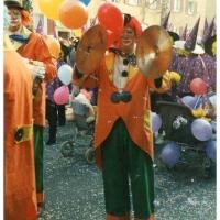 Umzug in Konstanz: Die Clowngruppe ist auch dabei.
