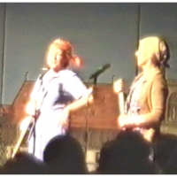 11.11. in der Handwerkskammer: Zwei Putzfrauen mit Elfriede Bischoff und Helga Matheis.