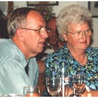 40 Jahre Elferrat. Jubilar Werner Mutter mit seiner Frau Hansi.