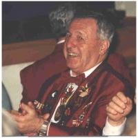 70 Jahre Schneckenburg: Ehrenpräsident Konti Uetz I. war natürlich auch unter den Gästen.