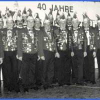 70 Jahre Schneckenburg: Der Jubiläums-Elferrat von 1991.