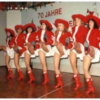 70 Jahre Schneckenburg: Auch das Schneckenburg-Ballett trug zur Stimmung bei.