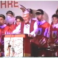 11.11. in der Handwerkskammer: Präsident Alex I. begrüßt die Gäste.