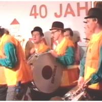 11.11. in der Handwerkskammer: Die Clowngruppe beschliesst den Abend.