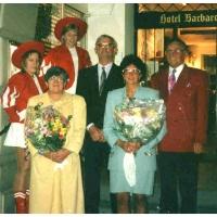 40 Jahre Elferrat von Alex Volz und Ludwig Degen: Das Fest wurde im Hotel Barbarosse gefeiert.