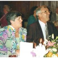 40 Jahre Elferrat: Jubilar Ludwig Degen mit Frau Inge.
