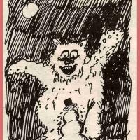 1. Schneeschreckerwachen in der Unikurve: Erster Artikel in der Presse.