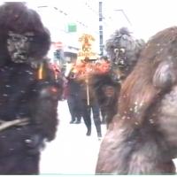 Umzug in Winterthur: Ein unglaubliches Erlebnis für den jungen Schneeschreck.