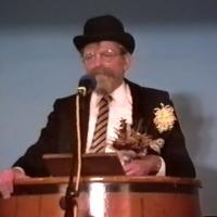 11.11. in der Linde: Paul Bischoff als Gratulant.