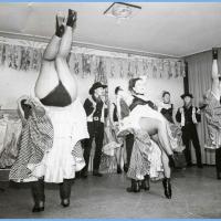 11.11. in der Linde: Das Schneckenburg-Ballett im Western Saloon unter der Leitung von Karin Ott.
