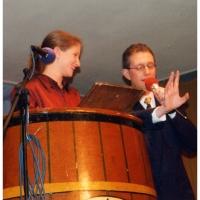11.11. in der Linde: Julia Pfundstein träumt von den Honoratioren der Konstanzer Fasnacht. Vorgestellt wurde sie vom Ansager Michael Krause.