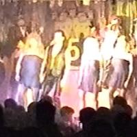 """11.11. in der Linde: Das Männerballett der Schneckenburg mit """"Snail of the Dance"""" unter der Leitung von Karin und Armin Ott."""