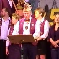 11.11. in der Linde: Treffende Worte zum Finale fand Präsident Alex Volz.