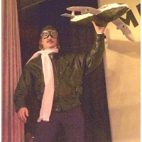 11.11. in der Linde: Markus Deutinger als Pilot.