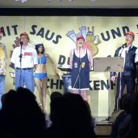11.11. in der Linde: Die fünf Euro-Schnecken mit Ekkehard Moser, Bernd und Dirk Mutter, Markus Deutinger und Mamertus Stader. Texte von Uwe Fiedler und Ekkehard Moser.