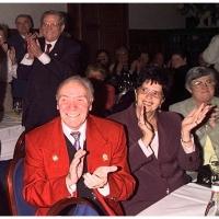 Verabschiedung von Präsident Alex Volz: Er und seine Frau Clair waren begeistert.