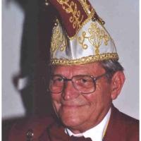 80 Jahre Schneckenburg: Ehren-Präsident Paul Bischoff.