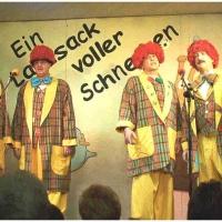 11.11. in der Linde: Die Schneckenburger Schnurrschrecken mit Bernd und Dirk Mutter, Markus Deutinger, Mamertus Stader. Begleitung Konrad Kraus an der Gitarre.