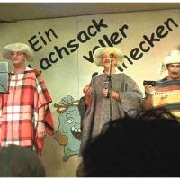 11.11. in der Linde: Los seis bromista de Sacos. Auftritt der Gastmusiker Ekki Moser, Bernd und Dirk Mutter, Markus Deutinger, Mamertus Stader aus dem fernen Concha Caracol. Begleitet wurden sie von Konrad Kraus.