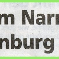 11.11. in der Linde: Zeitungsartikel.