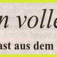 Frühschoppen im Konzil: Zeitungsartikel.