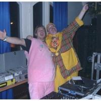 Erste Fasnachtsball im Rheingold: DJ Arthur Bruderhofer bei der Arbeit.